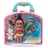 Disney Moana Set Moana Mini Animator Disney Store 2017