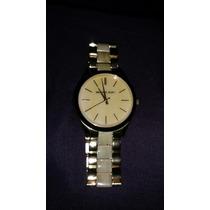 Reloj Michael Kors Con Carey Original Para Dama