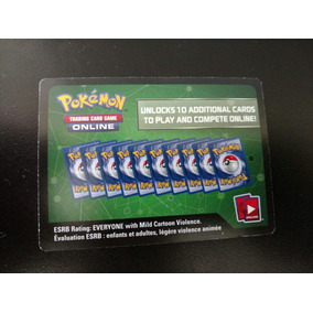 20 Codigos X 6 Cartas Pokémon Sun & Moon Tcg Online!!!