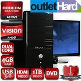 Pc Computadora Nueva Completa A4 4gb 1tb Dvd Lcd 17 Usado