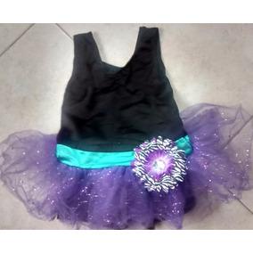 Disfraz Gimnasta Bailarina Con Tutu Talla 4-5 Años