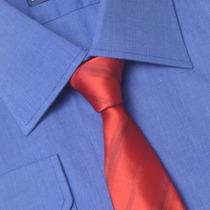 Camisa Social Masculina Fio 50 100% Algodão 01 1022