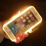 Capa Iphone Lumee Led Selfie Luz Foto Ilumina Case Acende