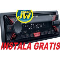Auto Estereo Sony Dsx A100 Usb Aux 55w Instalacion Gratis
