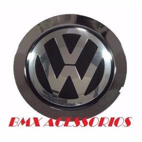 Calota Miolo Centro Roda Kromma Modelo Audi A8 Com Emblema