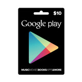 Google Play Store 10usd Gift Tarjeta Juego Entrega Minutos
