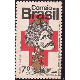 Brasil-selo 767-mata Mosquito-osvaldo Cruz-novo