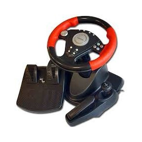 Volante Racing Wheel Pc Ps1 Ps2 Xbox360 Tienda Fisica