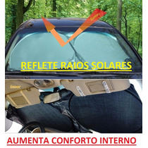 Protetor Solar Parabrisa Painel Carro Tapa Reflete Facil