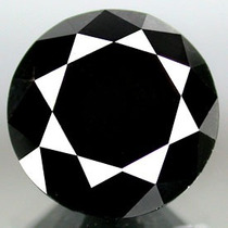 Diamante Negro 1.80 Cts Redondo 100% Natural Certificado