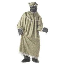 Disfraz Hombre Traje De La Abuela Lobo California Trajes De
