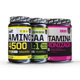 Combo Pack De Aminoacidos Ena 3 Unidades Bcaa Glutamina