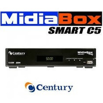 Midiabox Smart C5 Analógico E Digital Receptor Century