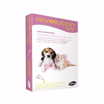 Antipulga Revolution 6% 15mg Para Cães E Gatos Até 2,5 Kg
