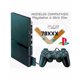 Cabo Flat Flet Flex L Play2 Ps2 Playstation 2 Slim 70xxx