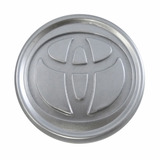 Calota Centro De Roda Toyota Corolla 2005 A 2009 58mm Prata