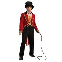 Disfraz De Domador De León - Mediano Hombre Deluxe Circo