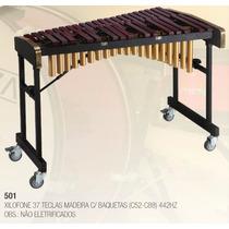 Xilofone 37 Teclas C/armação,pedal,baquetas(c52-c88) 442hz