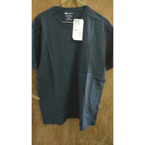 Remera Hering Azul Lisa Talle M