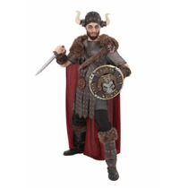 Disfraz De Vikingo Guerrero Para Adultos Envio Gratis