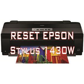 Reset Impressora Epson Styllus 1430w + Frete Grátis