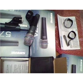 Microfone Shure Beta 58a Vocal Original Mexicano Pronta Entr