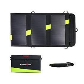 Cargador Del Panel X-dragon Alta Eficiencia 20w Solar Con Is