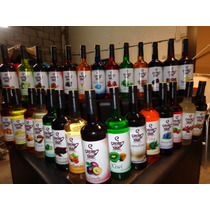 Jarabes Saborizantes Para: Capuchino, Soda Italiana, Raspado