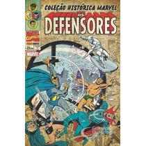 Coleção Histórica Marvel Os Defensores 1 Com O Estojo