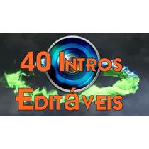 Projetos Editáveis - 40 Intros Editáveis Sony Vegas