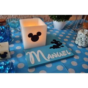 Centro De Mesa Mickey Mouse Bebe 20 Piezas Aluzza
