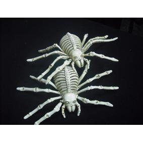 Halloween Esqueletos De Tarantulas 3 Piezas ¡¡¡envio Gratis!