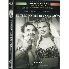 Dvd German Valdez Tin Tan El Tesoro Del Rey Salomon Tampico