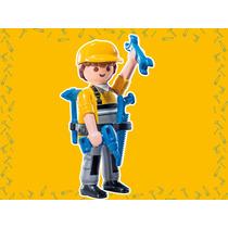 Retromex Playmobil 9146 Figura Handyman #3 Serie 11 Tecnico
