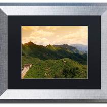 Arte Impreso Philippe Hugonnard Great Wall Xvi Art, Silver