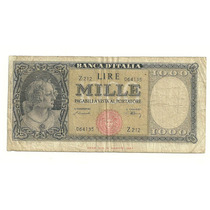 Billete 1,000 Liras (1948) Italia