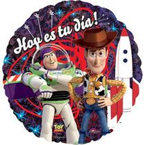 Globo Toy Story Paquete 6 Pzas Medida 18 Pulgadas Para Helio