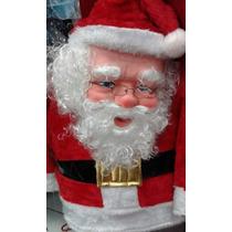 Disfras De Papa Noel Completo Navidad Luces