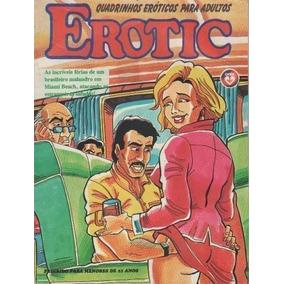 Revista Erotic - Quadrinhos Eróticos Para Adultos Sem Autor