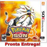 Pokemon Sun 3ds Americano Pronta Entrega Lacrado