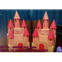 Centros De Mesa Castillo De Princesa Hecho A Mano