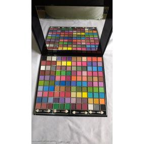Kit Maquiagem Paleta Sombras Profissiona Ruby Rose 120 Cores