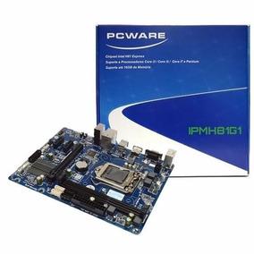 Placa Mãe Pcware Ipmh81g1 1150p I3/i5/i7/pentium 4ª Geração