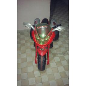 Moto Elétrica Infantil Super Moto Gt2.turbo Vermelha 12v