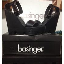 Sandalias Basinger Negro 35 Nuevas