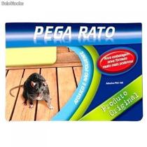 Kit C/ 20 Ratoeira Adesiva Cola Pega Rato Barata Inseto