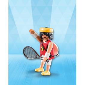 Playmobil Da Série 9 Guga Aposentado Do Tenis