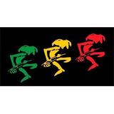Adesivo Bonequinho Do Reggae P/ Caminhão 25x13