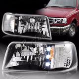 Par De Faros Led Para Ford Ranger 93-97