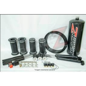 Kit Suspensão A Ar Blackz 04 Válvulas + Controle Gol